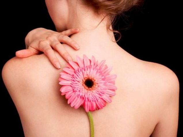 Удаление татуировки на спине